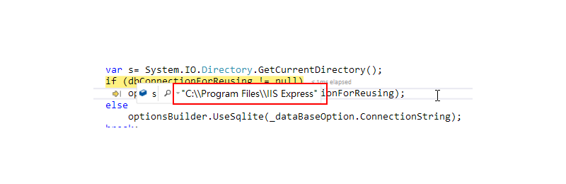 ASP .Net Core 2.2 SQLite unable to open database file